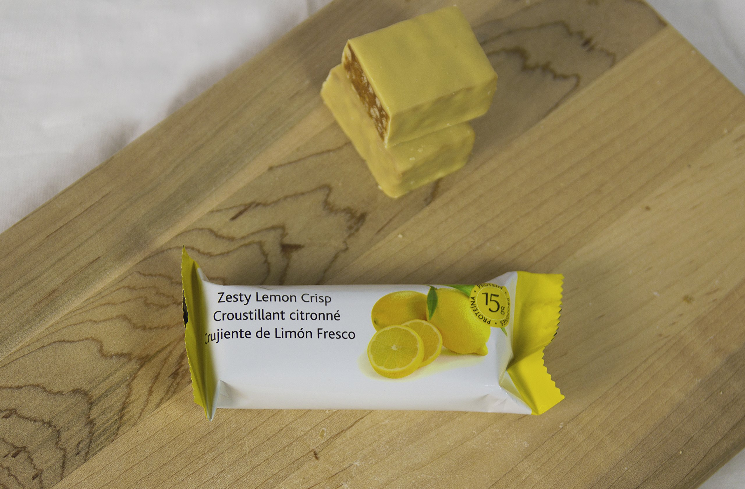 ThinWorks Zesty Lemon Crisp Low Carb Protein Bars by ThinWorks