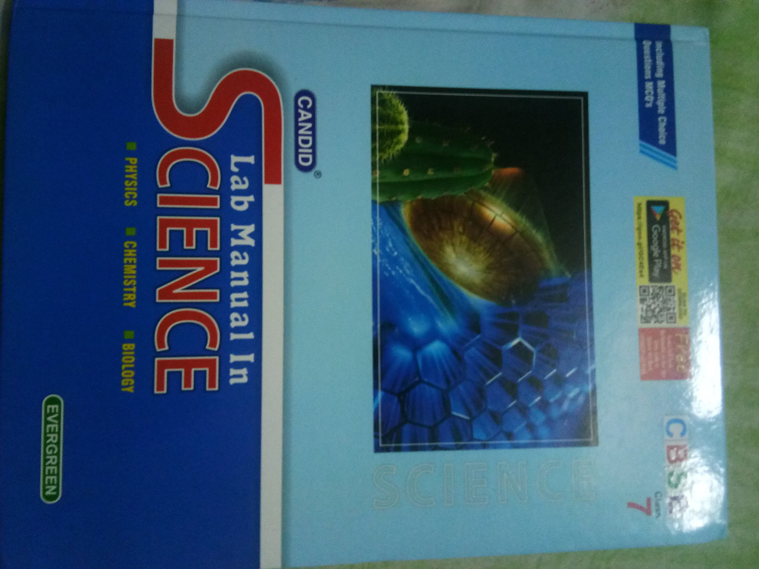 Candid Lab Manual in Science (Class 7): Amazon.in: Pradeep Singh, Jatinder  Singh, Dheeraj Banati: Books