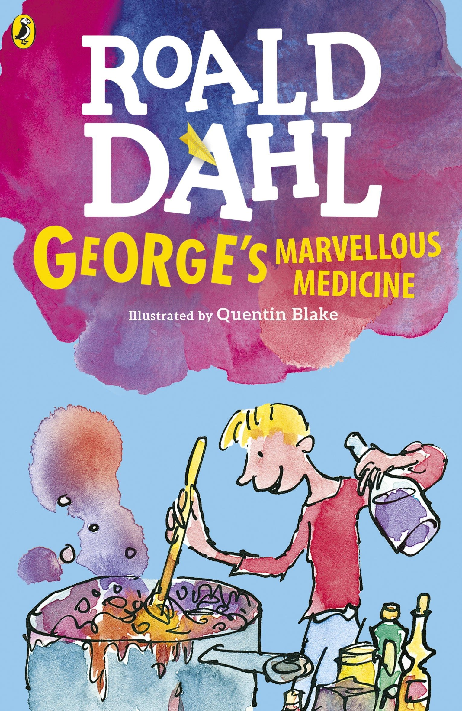 George's Marvellous Medicine (Dahl Fiction): Amazon.co.uk: Dahl, Roald,  Blake, Quentin: 9780141365503: Books