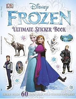 Ultimate Sticker Book Frozen Books