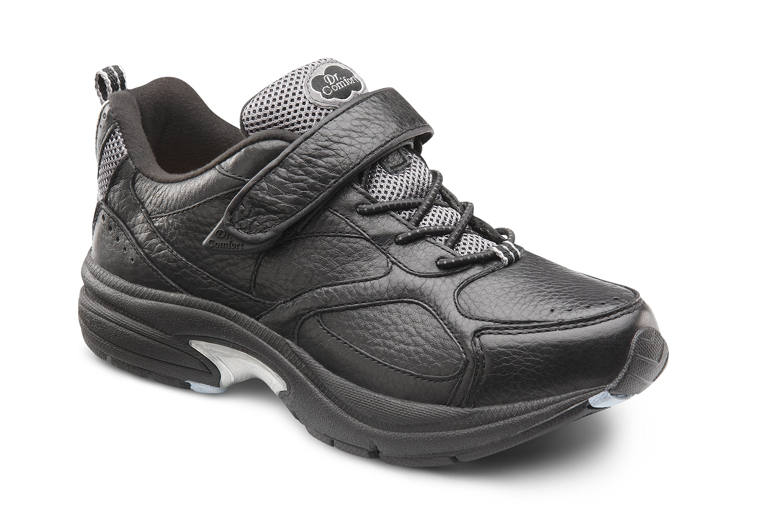 Dr. Comfort Women's Spirit Black Diabetic Athletic Shoes