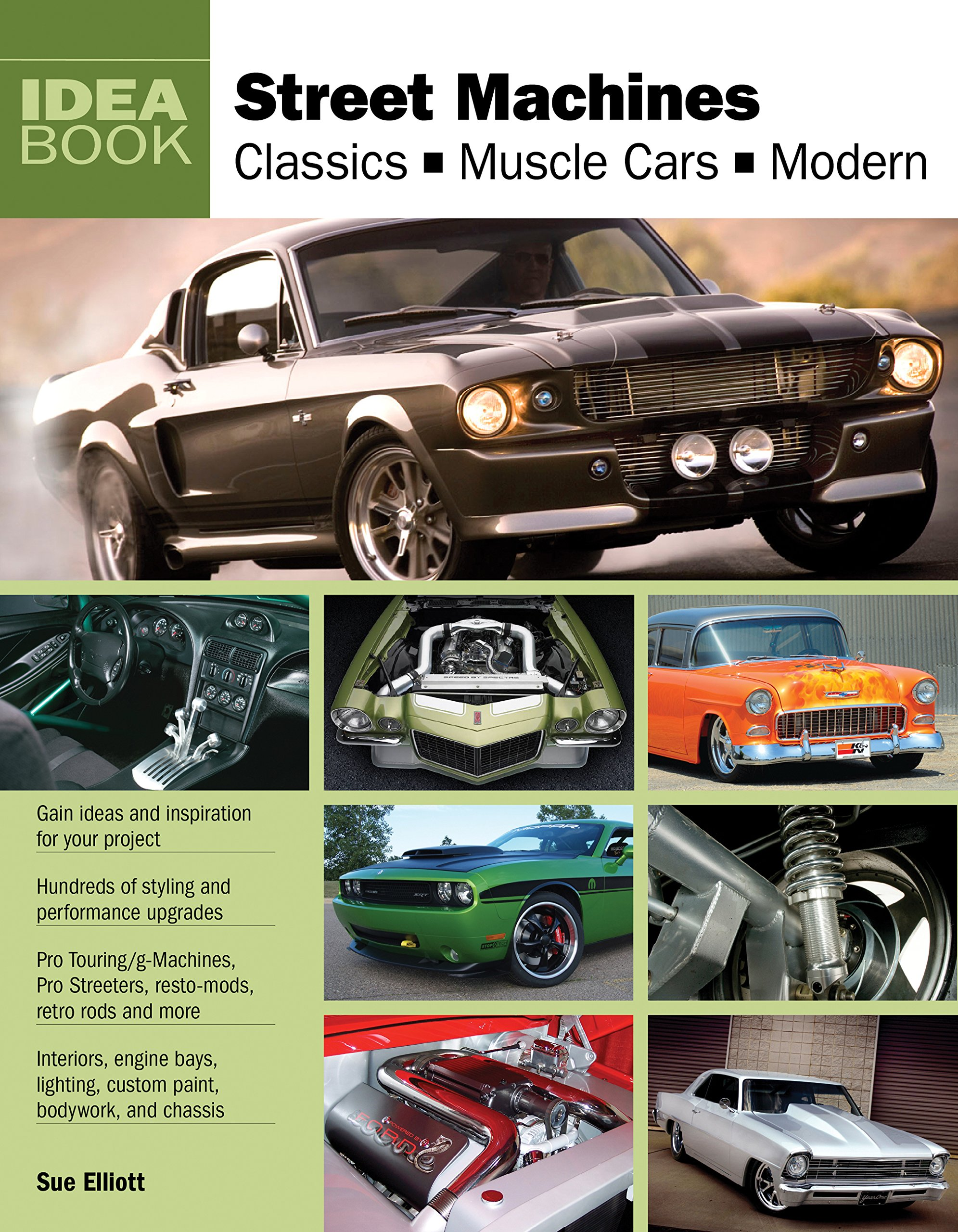 Street Machines Classics Muscle Cars Modern Idea Book Sue