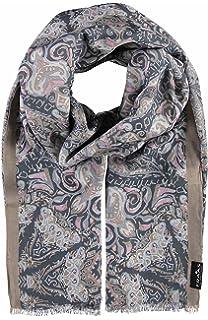 Fraas - Echarpe - Imprimé - Femme - Blanc - Taille unique  Amazon.fr ... 82804b7a5f4