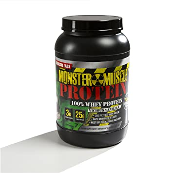 583cc96f4 Image Unavailable. Image not available for. Color  Goliath Labs 100% Whey  Protein ...