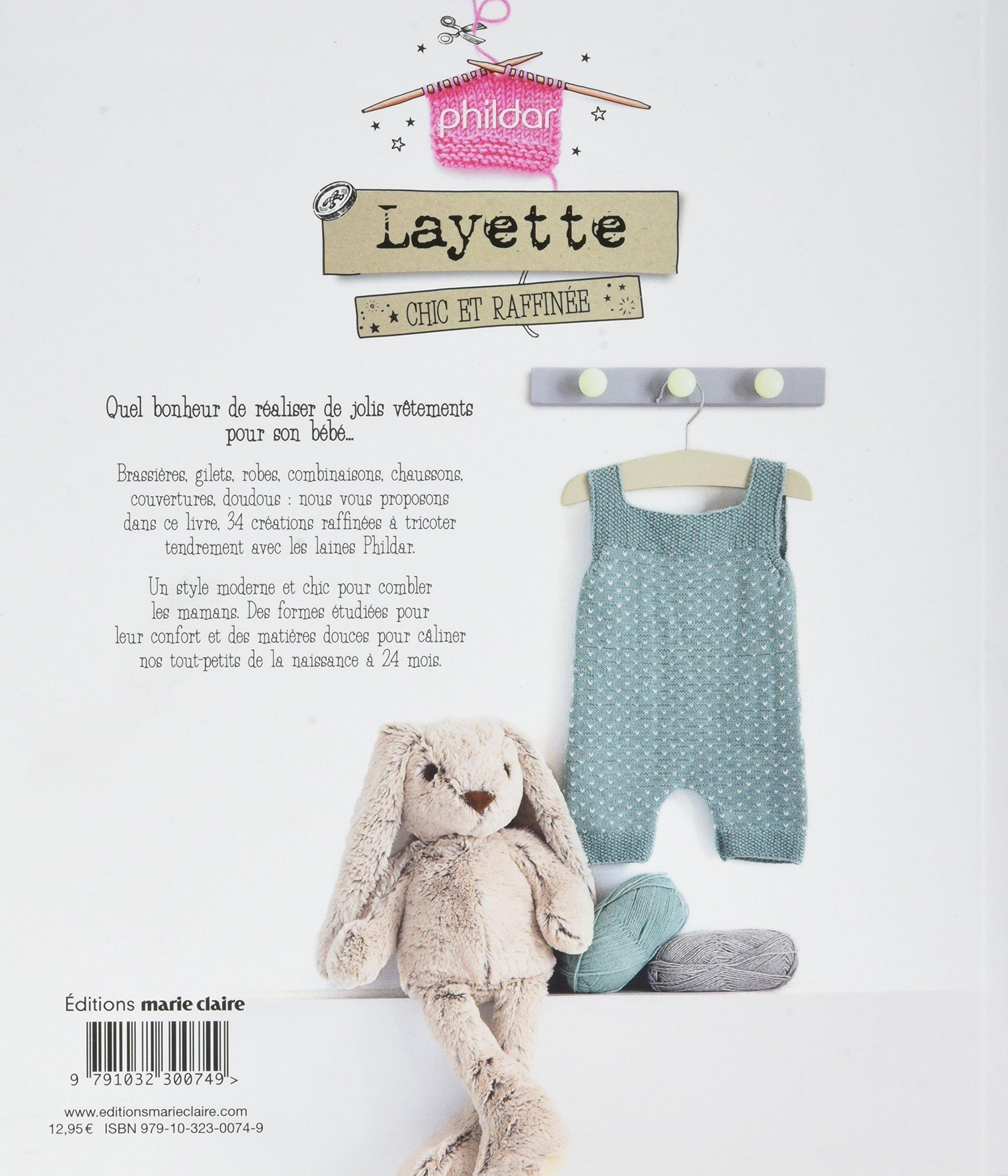 Layette Chic Et Raffinée 34 Modèles à Tricoter De La