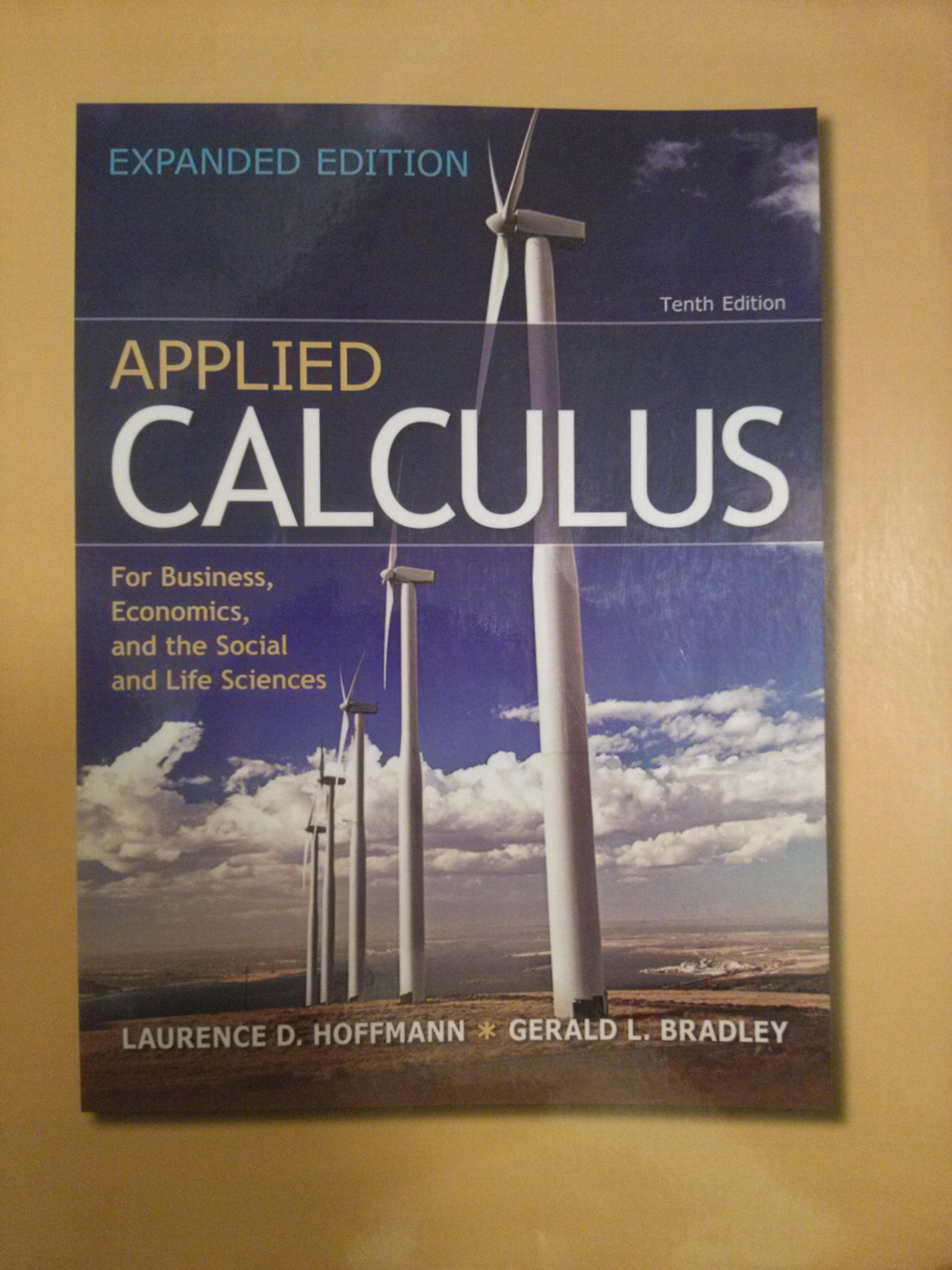 Student's solution manual for calculus for business, economics.
