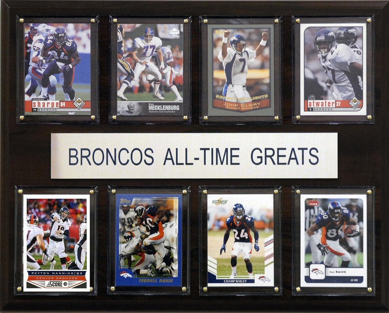 Amazon.com : NFL Denver Broncos All-Time Greats Plaque : Sports ...