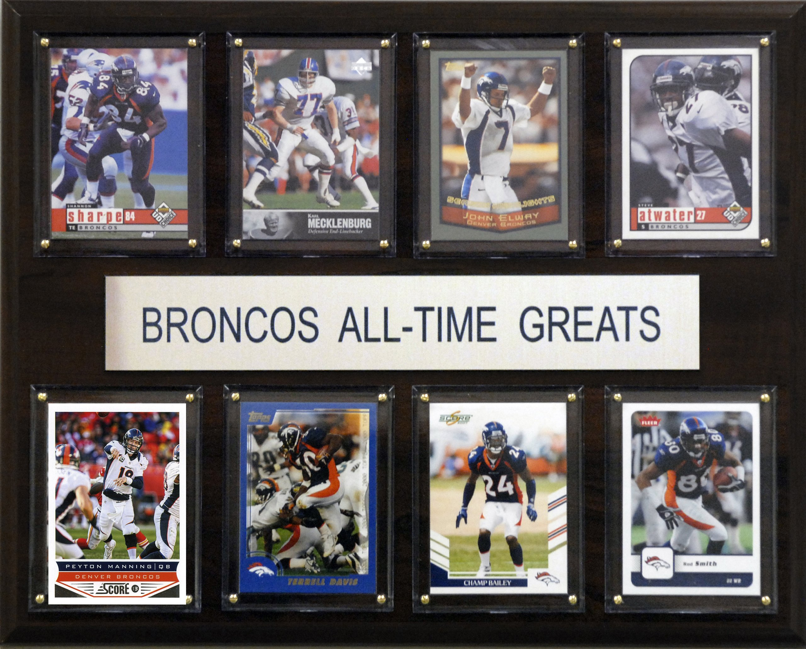 NFL Denver Broncos All-Time Greats Plaque by C&I Collectables