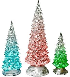 Amazon.com: Ganz Light Up Christmas Tree, Large, Acrylic: Home ...