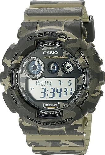 Casio G Shock Men's GD 120CM Camo Sport Watch