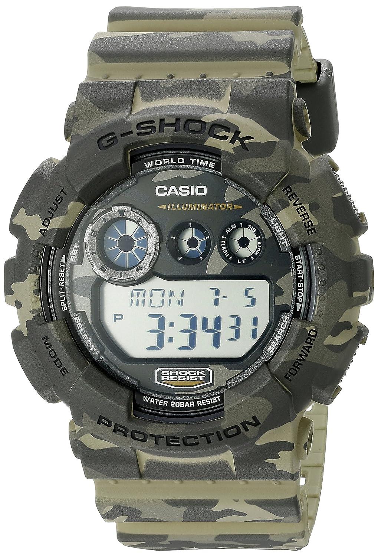 fb20d850dc5 Amazon.com  Casio G-Shock Men s GD-120CM Camo Sport Watch  Watches