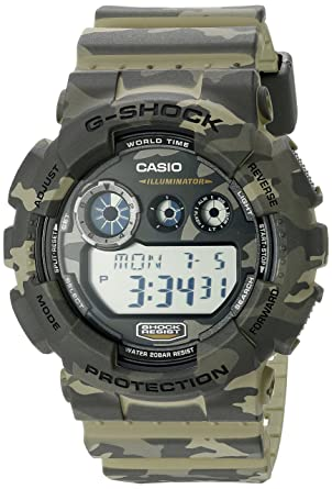 362a4f32bb1 Amazon.com  Casio G-Shock Men s GD-120CM Camo Sport Watch  Watches