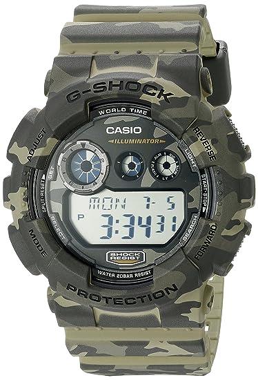 G-Shock Men s GD120CM-5A Brown Green  Casio  Amazon.ca  Watches 935455cdc5
