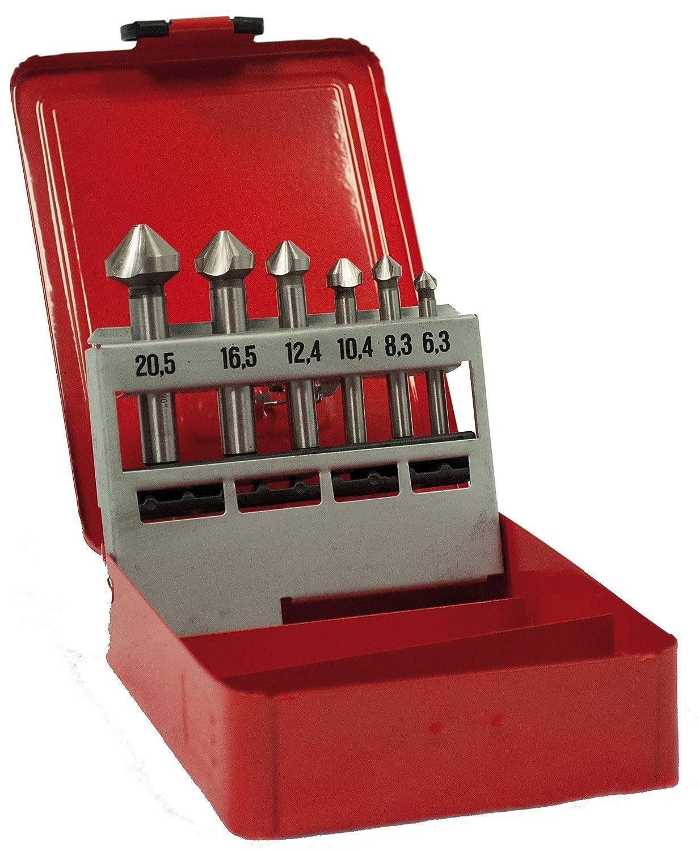 Ruko 102152 Juego de 6 avellanadores có nicos, DIN 335 Forma C, 6.3mm RUKO GmbH
