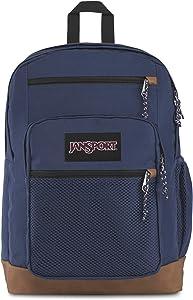 JanSport Huntington Backpack - Lightweight 15 Inch Laptop Bag, Navy