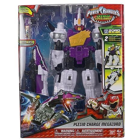 Giochi Preziosi Power Ranger Robot Megazord Dino Super Charger Con