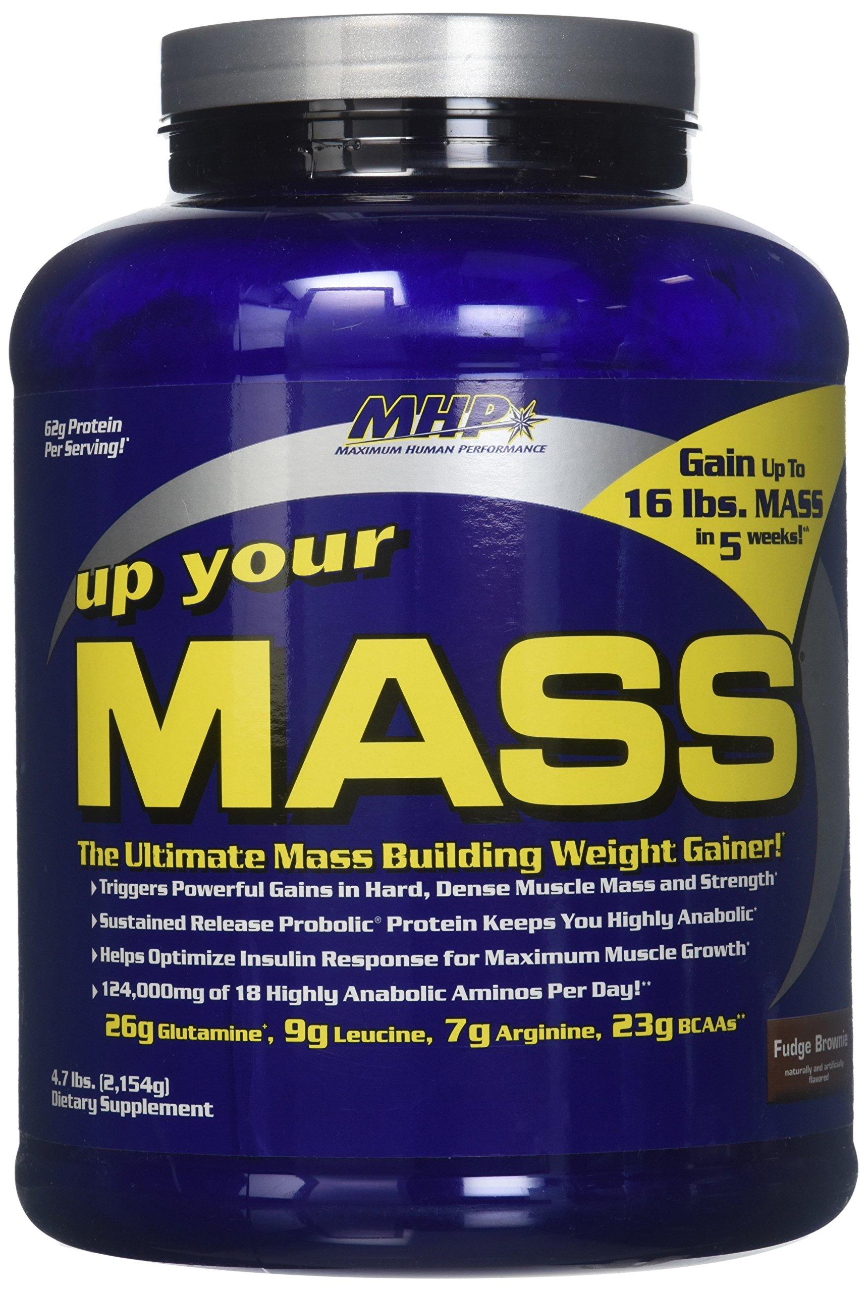 MHP - Up Your Mass Fudge Brownie - 4.7 lbs