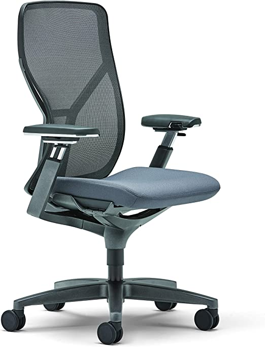 Amazon Com Allsteel Black Acuity 24x60 Weight Activated Mesh Back Task Chair With Fully Adjustable Arms Furniture Decor