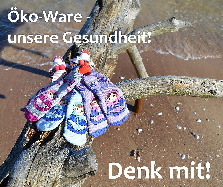 Weri Spezials Unisexe Bebes et Enfants ABS Eponge Matriochka Pantoufle Chaussons Chaussettes Antiderapants Lilas