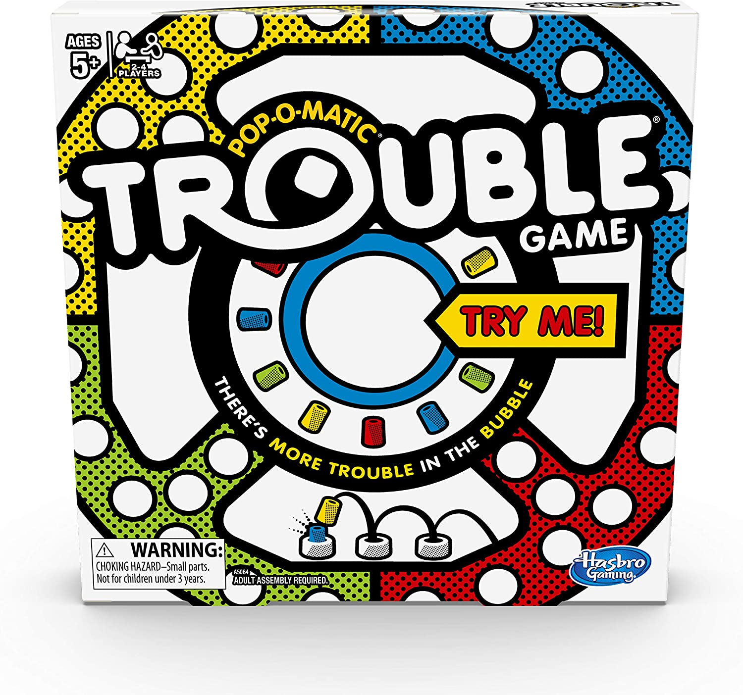 Best Card and board games for 6 year olds featured by top Seattle lifestyle blogger, Marcie in Mommyland: Trouble