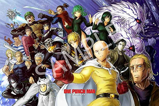 One Punch Man Poster High Quality Prints