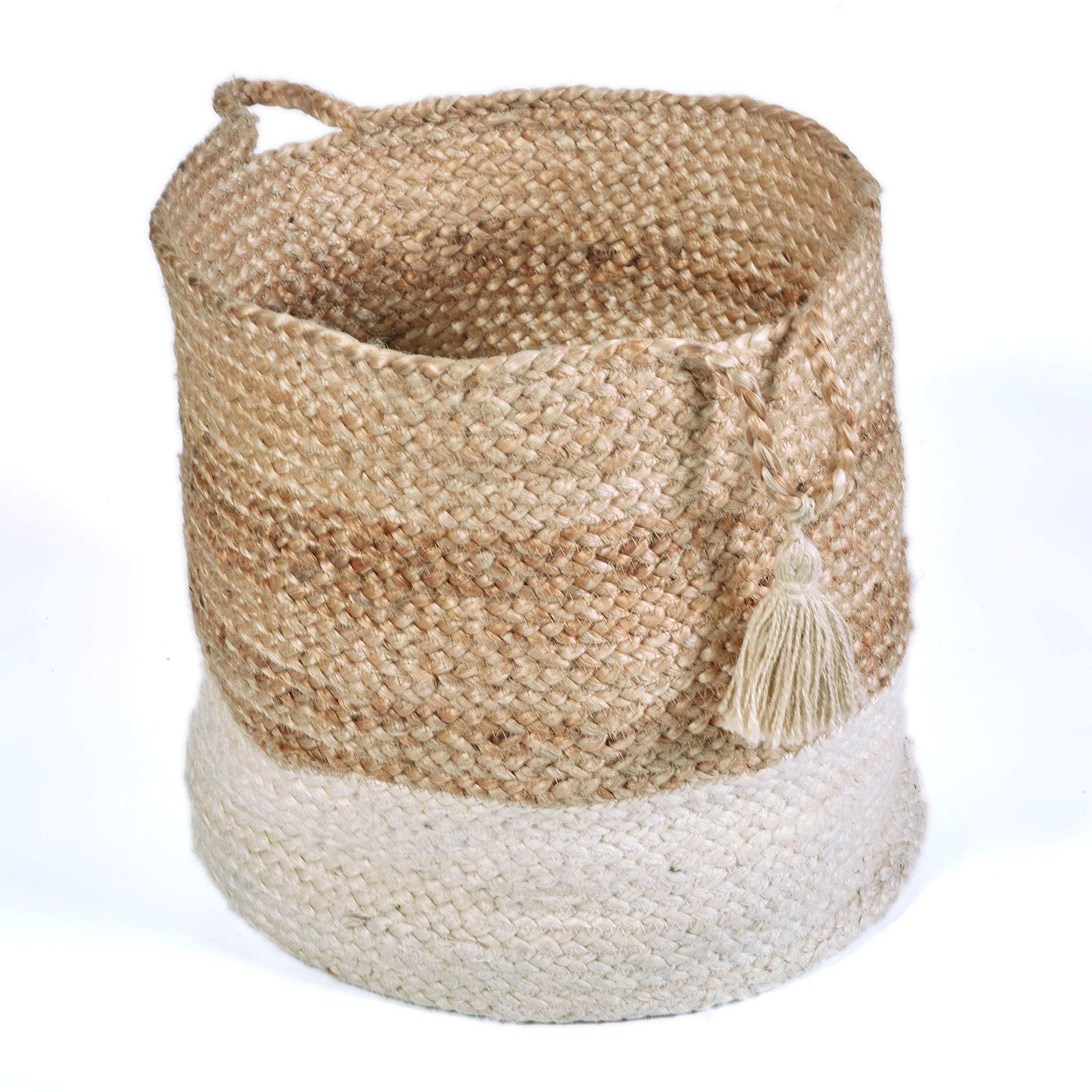 """LR Home Montego Decorative Storage Basket, 15"""" High ..."""