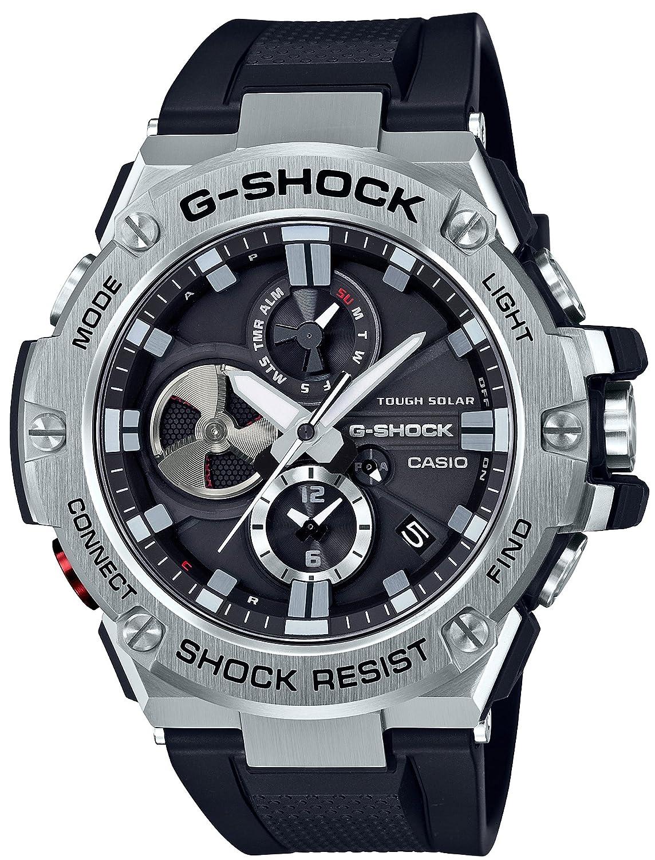 Casio G Shock Steel Gst B100 1ajf Japan Import Watches Original Ga 100 1a4 Jam Tangan Pria Resin Black