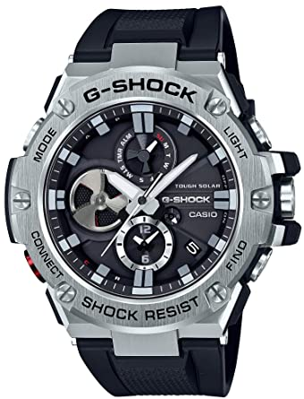 Amazon.com  Casio G-SHOCK G-STEEL GST-B100-1AJF Japan Import  Watches 37b5a4af8ecf