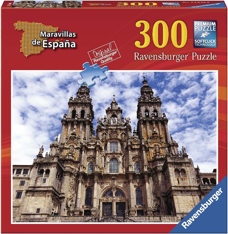 Ravensburger - Maravillas de España: Santiago de Compostela, Puzzle de 300 Piezas (14046 6): Amazon.es: Juguetes y juegos
