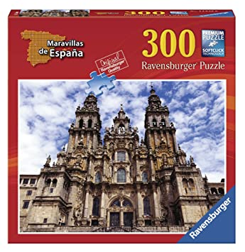 Ravensburger - Maravillas de España: Santiago de Compostela, puzzle de 300 piezas (14046