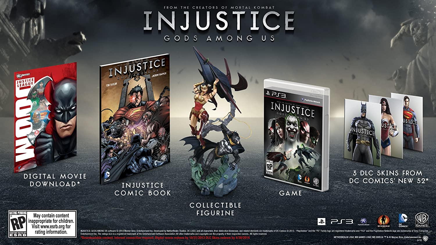 Amazoncom Injustice Gods Among Us Ultimate Edition PlayStation