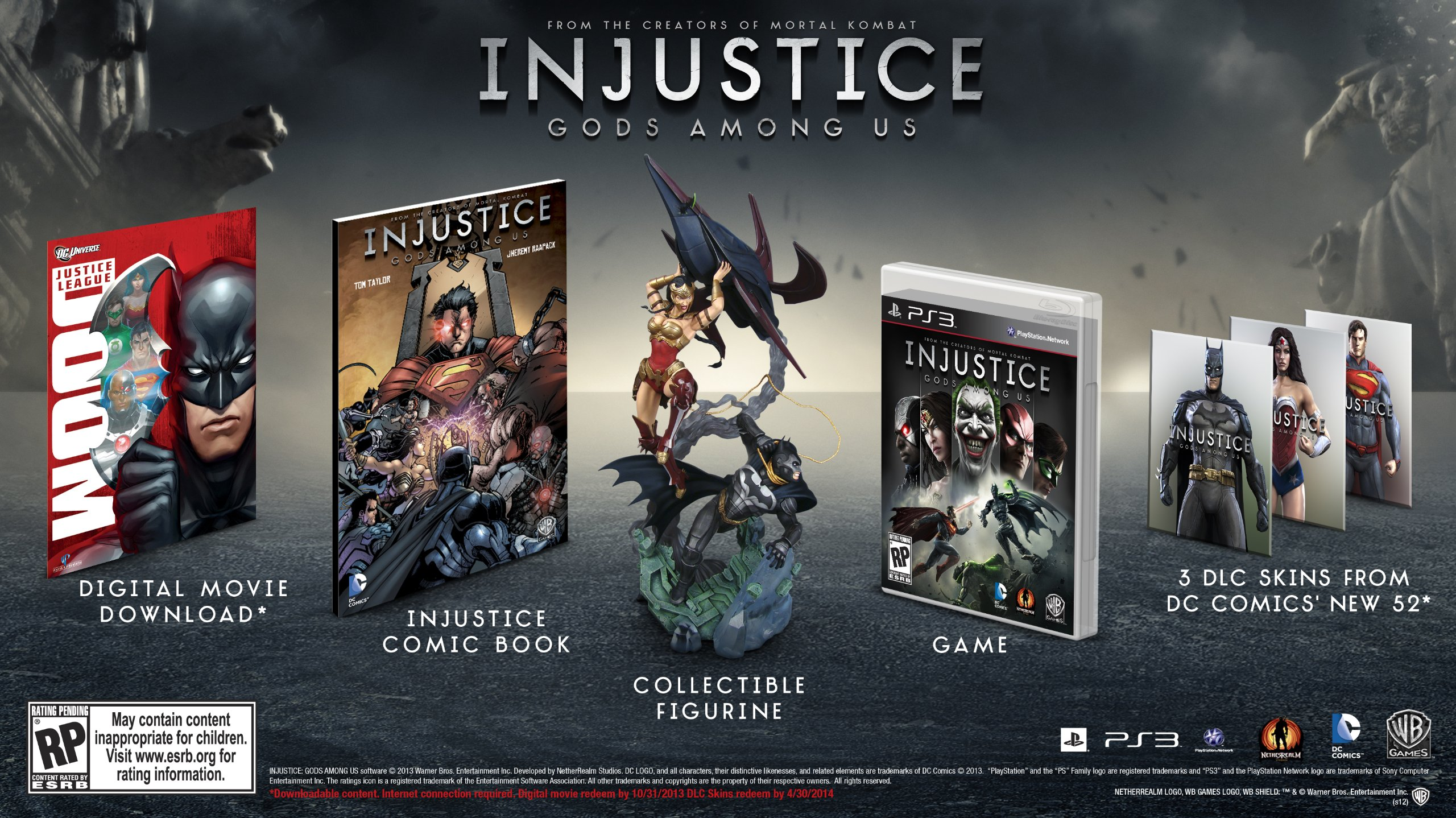 Injustice Gods Among Us Collectors Edition Amazon De Whv Games