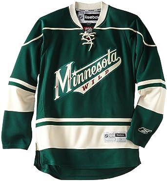 los angeles c366e b024b NHL Minnesota Wild Premier Jersey, Green, XX-Large, Jerseys ...