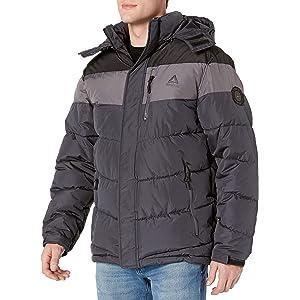 Reebok Mens Windbreaker Jacket Windbreaker Multi Medium