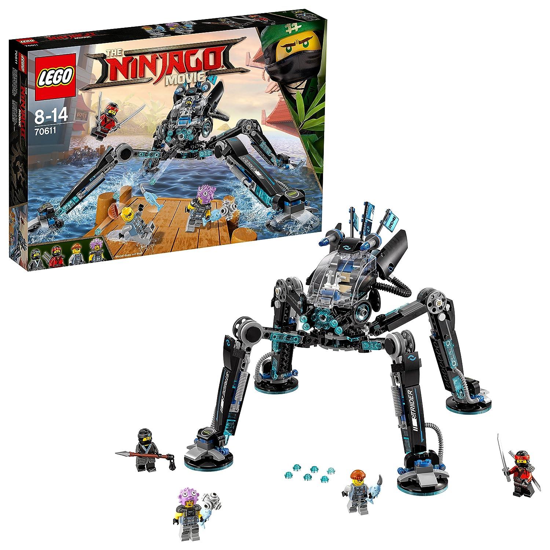 LEGO 70611 The Ninjago Movie 70611-Nya's Wasser-Walker, Bunt LEGO 70611 The Ninjago Movie 70611-Nya' s Wasser-Walker LEGO®