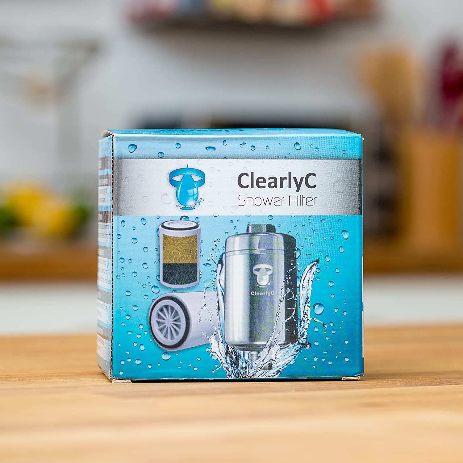 On Sale Shower Filter System – Universal Chlorine Removing Showerhead & Hard  Water Softener  Two Replaceable Cartridges