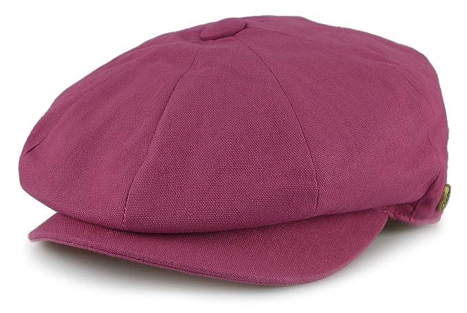 Sox Market Men s Cotton Applejack Patchwork Snap Brim Newsboy Cap (Medium 98d124750e4