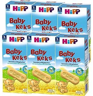 Hipp bebé Galletas Bio - a los 8 meses, 6 botellas (6 x 150g