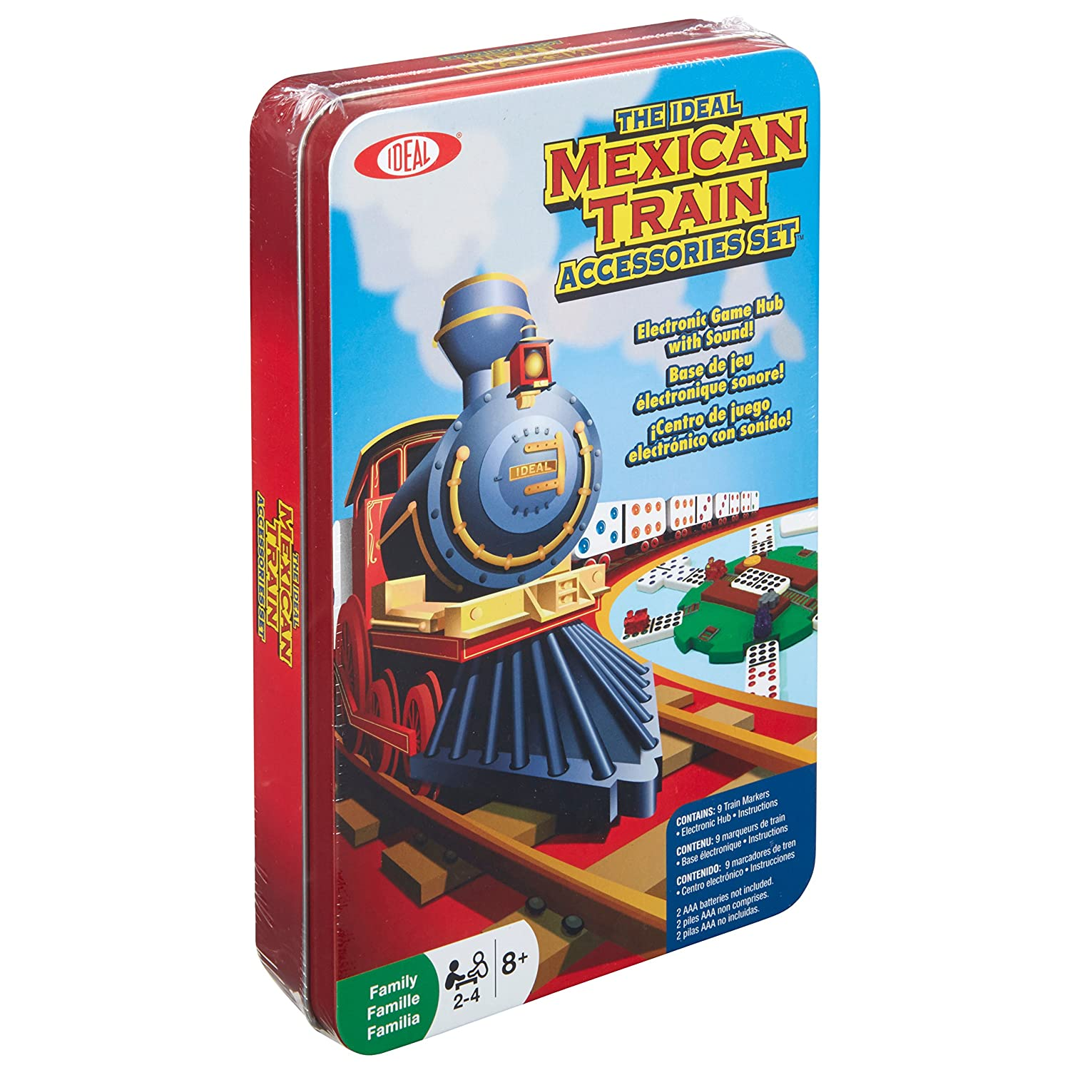Amazon Ideal Mexican Train Game Accessories Toys Games