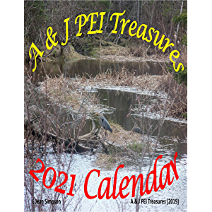 A & J PEI Treasures 2021 Calendar