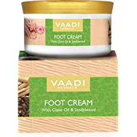 Vaadi Herbals Foot Cream, Clove and Sandal Oil, 150g