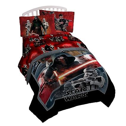 Amazon Com Star Wars Ep7 Millennium Falcon 3 Piece Twin Sheet Set