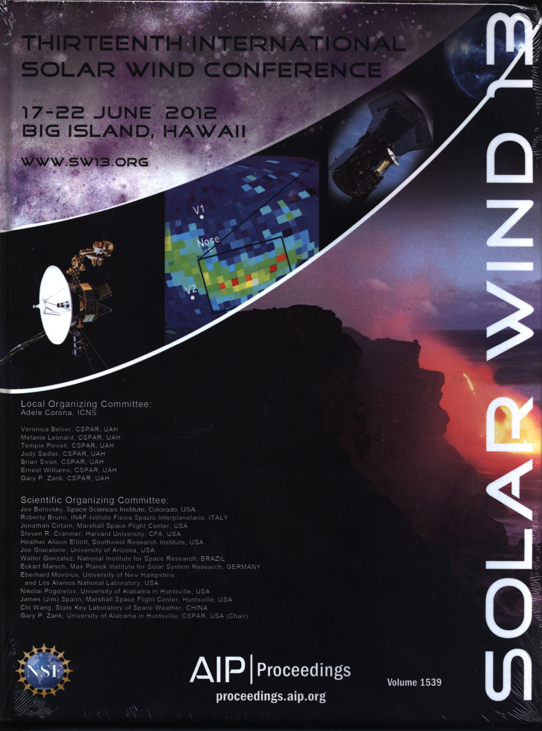 SOLAR WIND 13: Proceedings of the Thirteenth International
