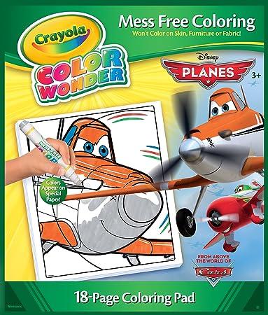 Amazon.com: Crayola Color Wonder, Disney Planes Coloring Book and ...