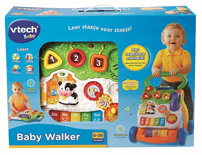 VTech Baby - Correpasillos andandín 2 en 1,, versión Francesa ...