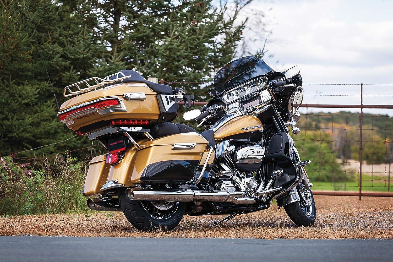 Black Kuryakyn 8957 Tour-Pak Trunk Luggage//Storage Rack Accessory Relocator Kit for 2009-13 Harley-Davidson Motorcycles