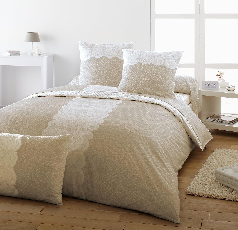 fabulous dodo ac effani parure housse de couette taies coton lin x cm amazonfr cuisine u maison. Black Bedroom Furniture Sets. Home Design Ideas