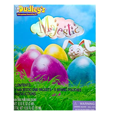 Dudleys Eggceptional Decorating Kit Majestic Egg Dye Kit Easter 2015: Toys & Games