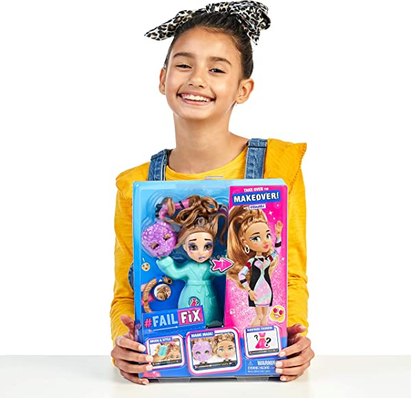 FailFix makeover fashion dolls toy for kids in package
