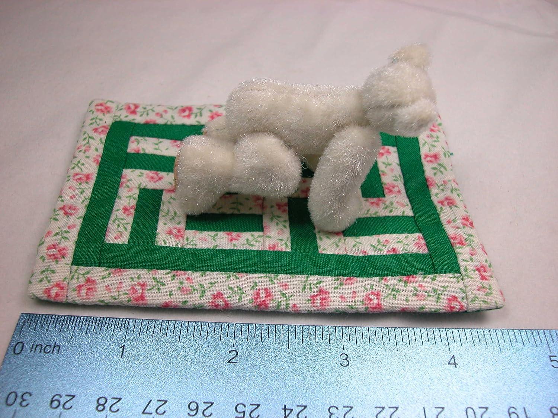 World of Miniature Bears 3 Plush Bear On the Move #1076 Collectible Miniature
